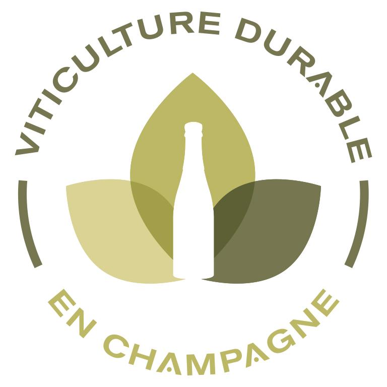 logo viticulture durable en champagne