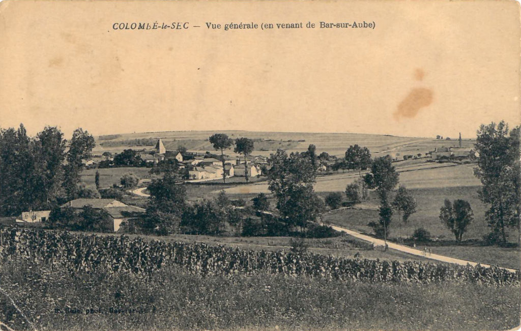 carte postale ancienne Colombé-le-Sec